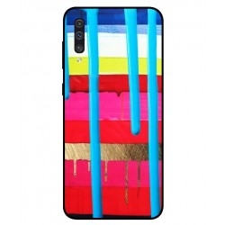 Samsung Galaxy A50 Brushstrokes Cover