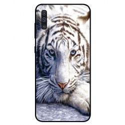 Samsung Galaxy A50 White Tiger Cover