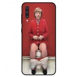 Samsung Galaxy A50 Angela Merkel On The Toilet Cover