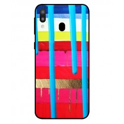 Samsung Galaxy M20 Brushstrokes Cover