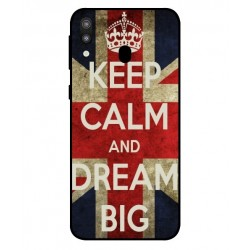 Samsung Galaxy M20 Keep Calm And Dream Big Cover