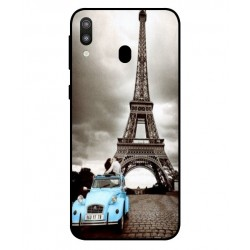 Samsung Galaxy M20 Vintage Eiffel Tower Case