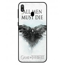 Protection All Men Must Die Pour Samsung Galaxy M20