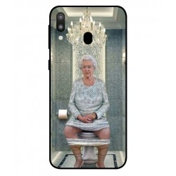 Samsung Galaxy M20 Her Majesty Queen Elizabeth On The Toilet Cover