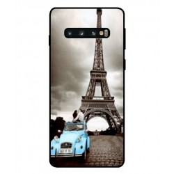 Samsung Galaxy S10 Vintage Eiffel Tower Case