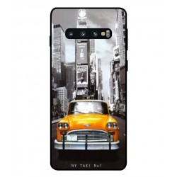 New York Taxi Custodia per Samsung Galaxy S10
