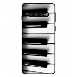 Pianoforte Custodia Per Samsung Galaxy S10 Plus