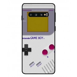 Game Boy Custodia Per Samsung Galaxy S10 Plus