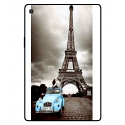 Samsung Galaxy Tab S5e Vintage Eiffel Tower Case