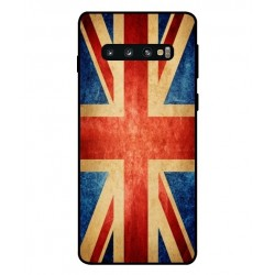 Vintage UK Custodia Per Samsung Galaxy S10 Plus