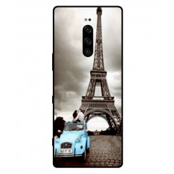 Sony Xperia 1 Vintage Eiffel Tower Case