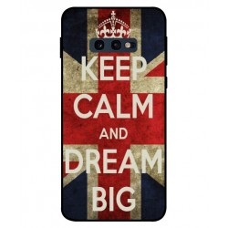 Samsung Galaxy S10e Keep Calm And Dream Big Cover