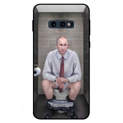Samsung Galaxy S10e Vladimir Putin On The Toilet Cover