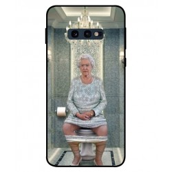 Samsung Galaxy S10e Her Majesty Queen Elizabeth On The Toilet Cover