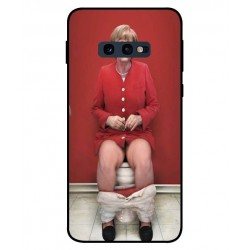 Samsung Galaxy S10e Angela Merkel On The Toilet Cover