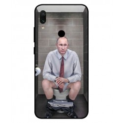 Xiaomi Redmi Note 7 Pro Vladimir Putin On The Toilet Cover