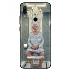 Xiaomi Redmi Note 7 Pro Her Majesty Queen Elizabeth On The Toilet Cover