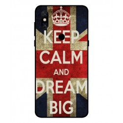 Coque Keep Calm And Dream Big Pour Xiaomi Mi Mix 3 5G