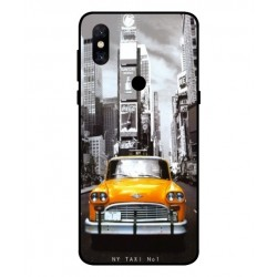 Coque New York Taxi Pour Xiaomi Mi Mix 3 5G