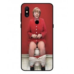Xiaomi Mi Mix 3 5G Angela Merkel On The Toilet Cover