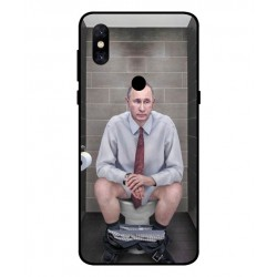 Xiaomi Mi Mix 3 5G Vladimir Putin On The Toilet Cover