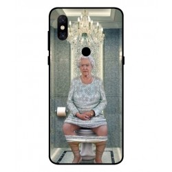 Xiaomi Mi Mix 3 5G Her Majesty Queen Elizabeth On The Toilet Cover