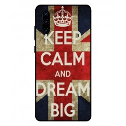 Huawei P30 Keep Calm And Dream Big Cover