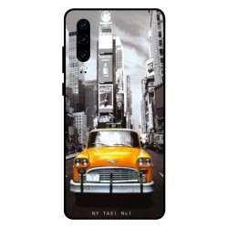 Coque New York Taxi Pour Huawei P30