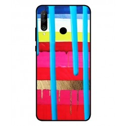 Huawei P30 Lite Brushstrokes Cover