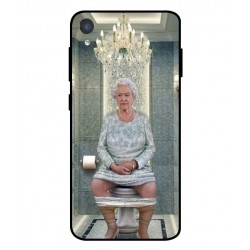Asus ZenFone Live L2 Her Majesty Queen Elizabeth On The Toilet Cover