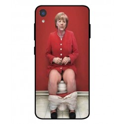 Asus ZenFone Live L2 Angela Merkel On The Toilet Cover