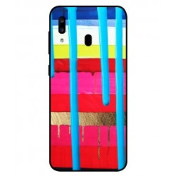 Samsung Galaxy A20 Brushstrokes Cover