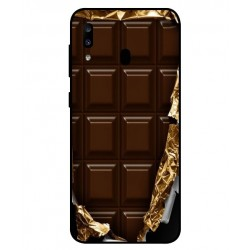 Samsung Galaxy A20 I Love Chocolate Cover