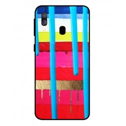 Samsung Galaxy A40 Brushstrokes Cover