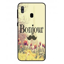 Samsung Galaxy A40 Hello Paris Cover