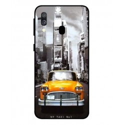 Samsung Galaxy A40 New York Taxi Cover