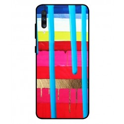 Samsung Galaxy A70 Brushstrokes Cover