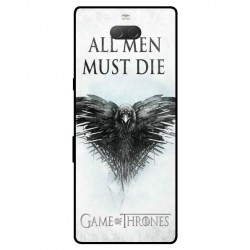 Protection All Men Must Die Pour Sony Xperia 10 Plus