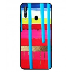 Samsung Galaxy M40 Brushstrokes Cover