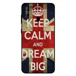 Samsung Galaxy M40 Keep Calm And Dream Big Cover