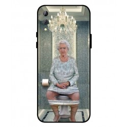 Xiaomi Black Shark 2 Her Majesty Queen Elizabeth On The Toilet Cover