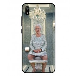 Xiaomi Redmi 7A Her Majesty Queen Elizabeth On The Toilet Cover