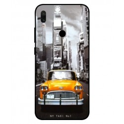 Xiaomi Redmi Y3 New York Taxi Cover