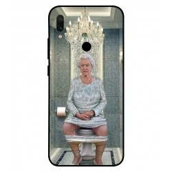 Xiaomi Redmi Y3 Her Majesty Queen Elizabeth On The Toilet Cover