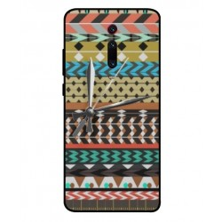 Xiaomi Redmi K20 Pro Mexican Embroidery With Clock Cover