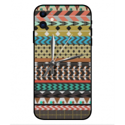 Carcasa Bordado Mexicana Con Reloj Para iPhone 11