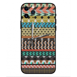 Carcasa Bordado Mexicana Con Reloj Para iPhone 11 Pro