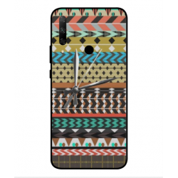 Coque Broderie Mexicaine Avec Horloge Pour Huawei Honor 9x