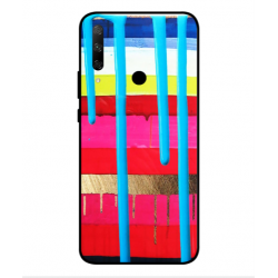 Huawei Honor 9x Brushstrokes Cover