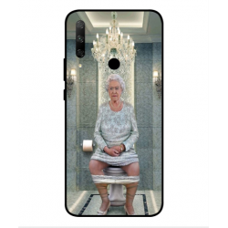 Huawei Honor 9x Her Majesty Queen Elizabeth On The Toilet Cover